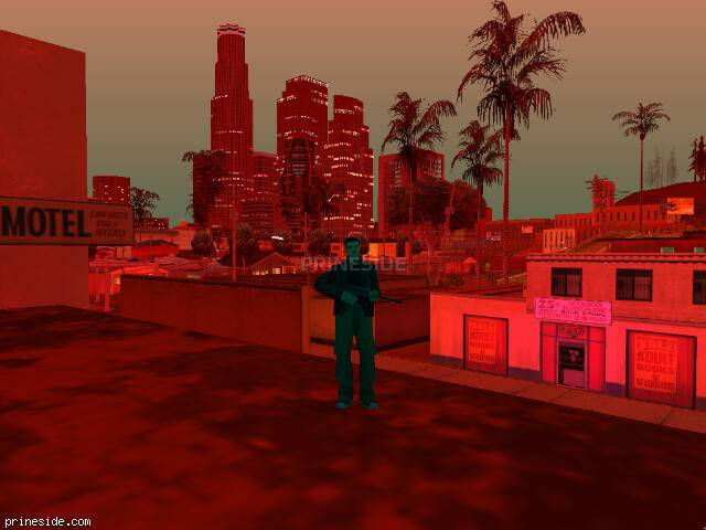 GTA San Andreas weather ID 194 at 21 hours
