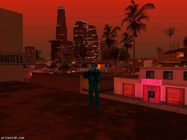 GTA San Andreas weather ID 194 at 22 hours