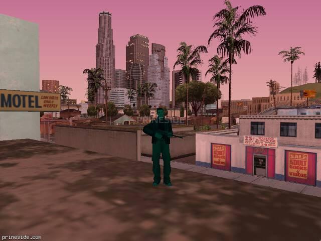 Просмотр погоды GTA San Andreas с ID 195 в 20 часов