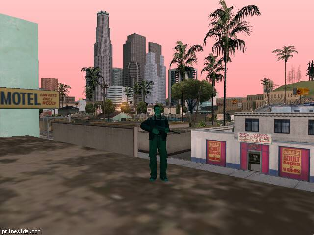 GTA San Andreas weather ID 196 at 10 hours