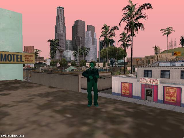GTA San Andreas weather ID -60 at 16 hours