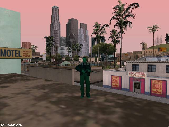 GTA San Andreas weather ID -316 at 19 hours