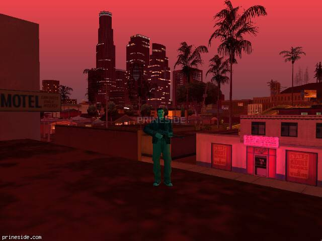 GTA San Andreas weather ID -60 at 21 hours