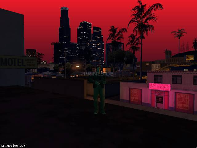 GTA San Andreas weather ID 196 at 22 hours