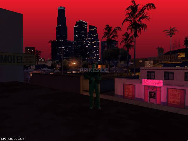 GTA San Andreas weather ID 964 at 23 hours