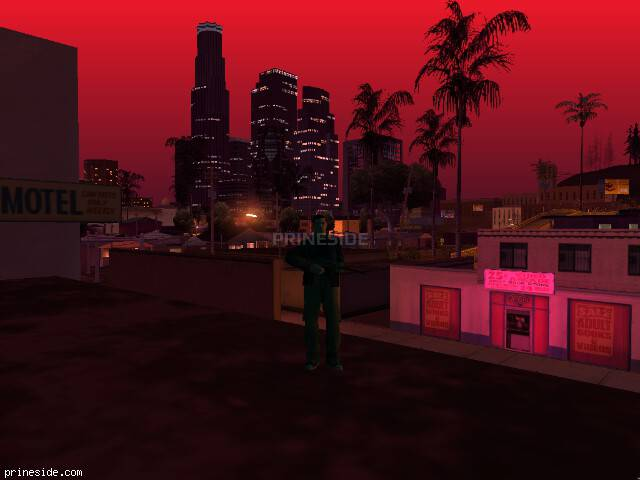 GTA San Andreas weather ID 196 at 2 hours