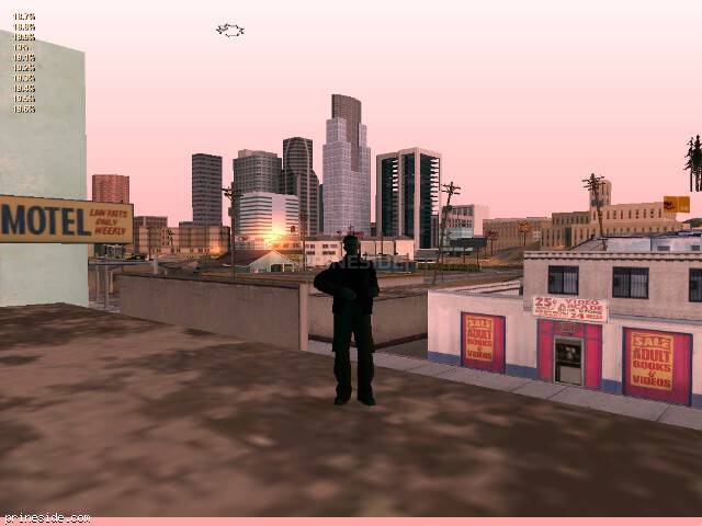 GTA San Andreas weather ID -60 at 7 hours