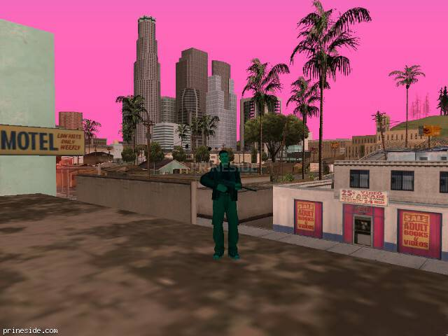 GTA San Andreas weather ID 197 at 14 hours