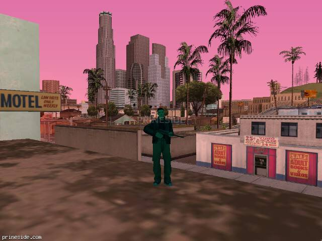 GTA San Andreas weather ID -315 at 17 hours