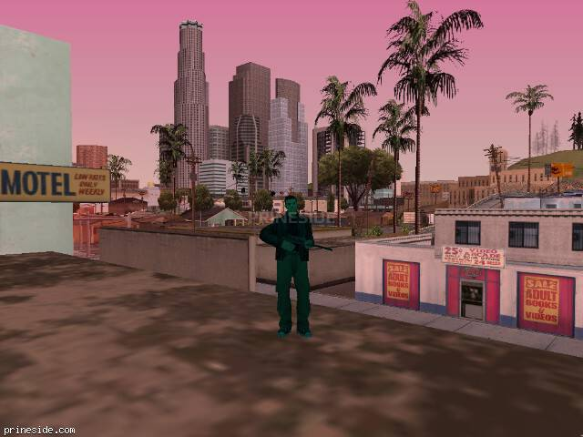 GTA San Andreas weather ID 197 at 19 hours
