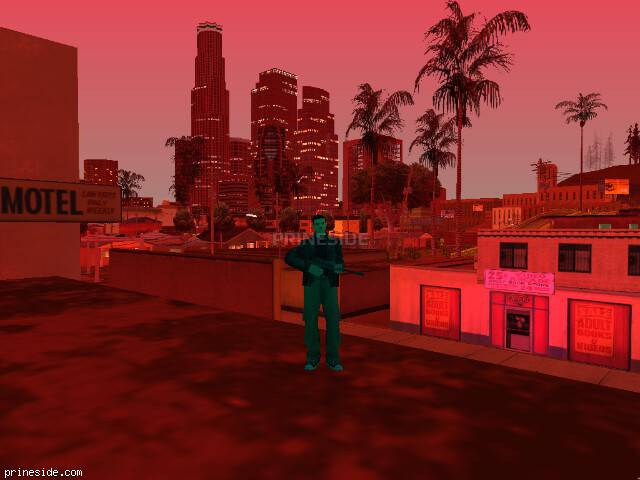 GTA San Andreas weather ID -571 at 21 hours