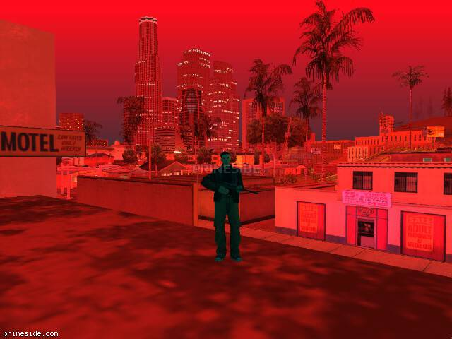 GTA San Andreas weather ID -1083 at 23 hours