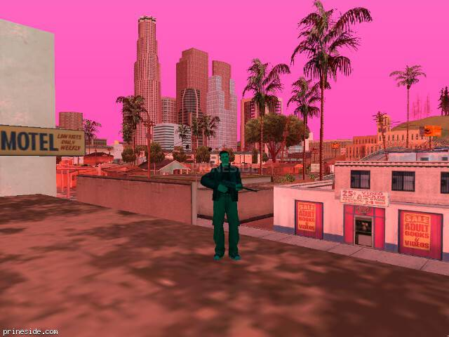 GTA San Andreas weather ID 198 at 13 hours
