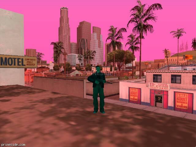 Просмотр погоды GTA San Andreas с ID 198 в 14 часов