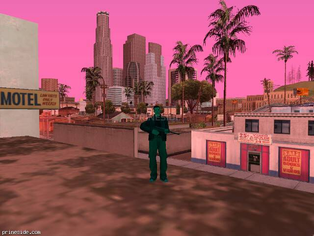 GTA San Andreas weather ID -1082 at 15 hours