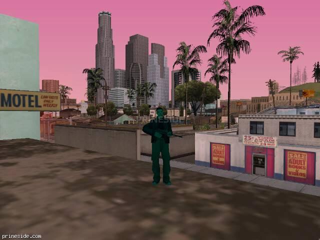 Просмотр погоды GTA San Andreas с ID 710 в 18 часов
