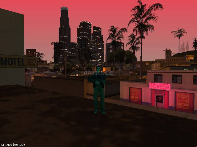GTA San Andreas weather ID -1082 at 21 hours