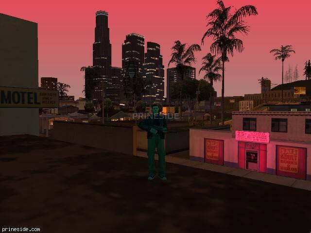 Просмотр погоды GTA San Andreas с ID 198 в 21 часов