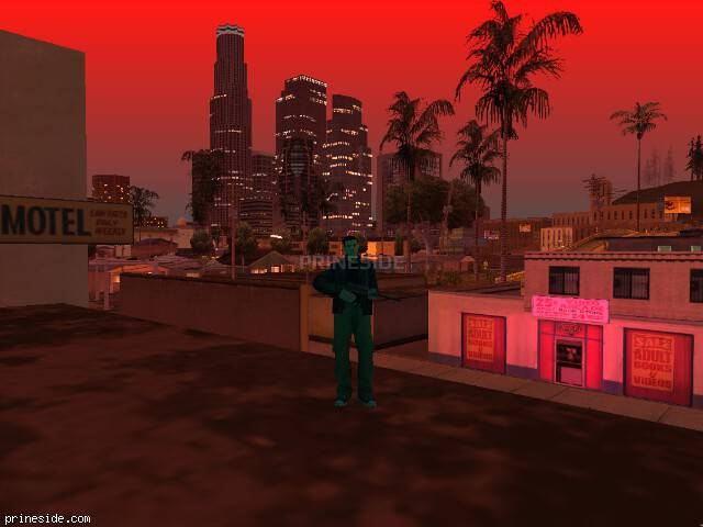 GTA San Andreas weather ID -570 at 22 hours