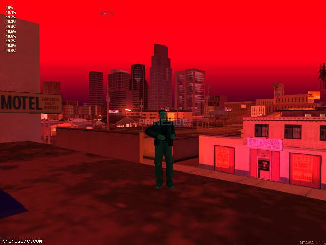 GTA San Andreas weather ID 2503 at 0 hours