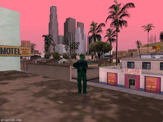 GTA San Andreas weather ID 967 at 10 hours