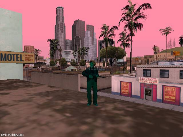 GTA San Andreas weather ID -57 at 11 hours