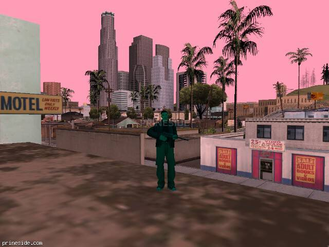 GTA San Andreas weather ID 1991 at 12 hours