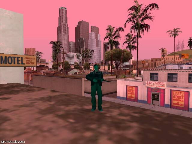 GTA San Andreas weather ID -57 at 14 hours