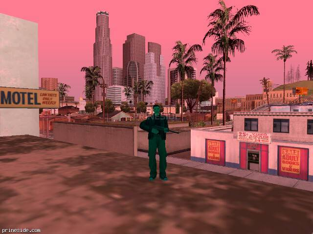 GTA San Andreas weather ID 967 at 15 hours