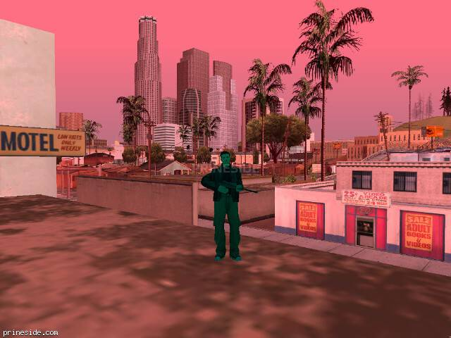 GTA San Andreas weather ID 2503 at 16 hours