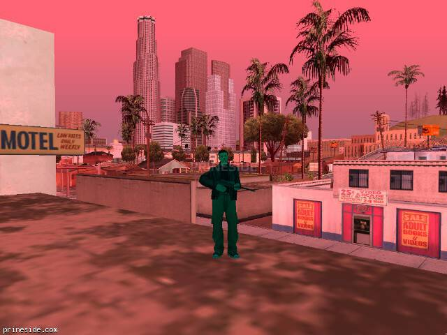 GTA San Andreas weather ID 455 at 17 hours