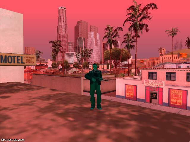 GTA San Andreas weather ID 1223 at 18 hours