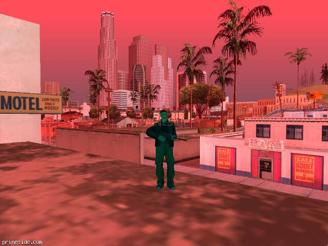 GTA San Andreas weather ID 199 at 19 hours