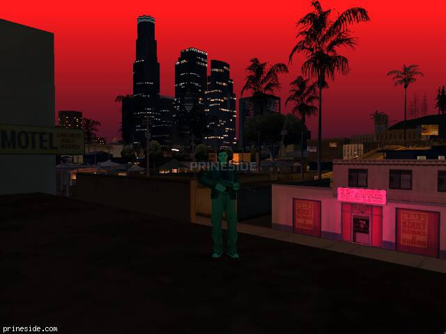 GTA San Andreas weather ID 2503 at 21 hours