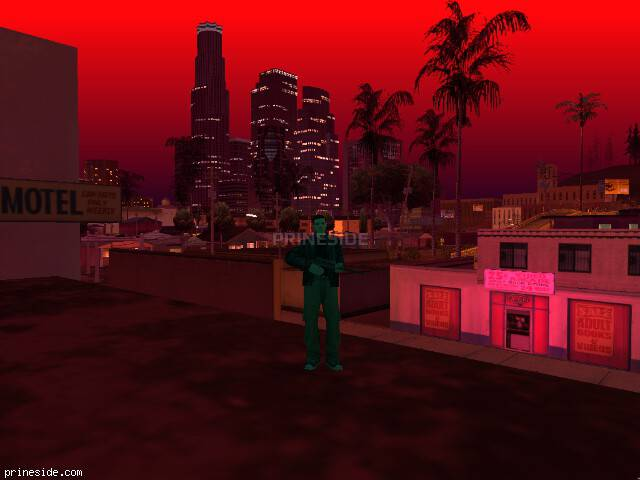 GTA San Andreas weather ID 1991 at 22 hours