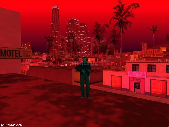 GTA San Andreas weather ID 1735 at 23 hours