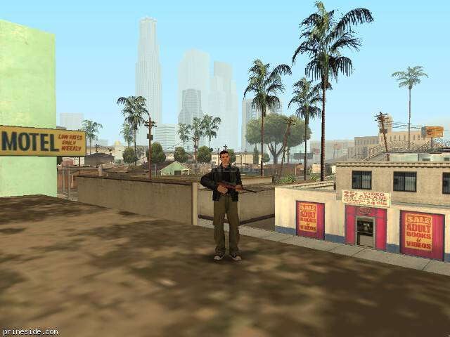 GTA San Andreas weather ID 2 at 14 hours