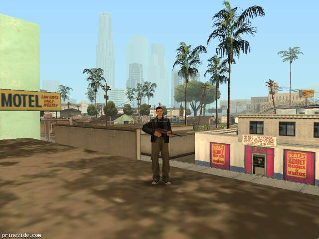 GTA San Andreas weather ID 2 at 16 hours