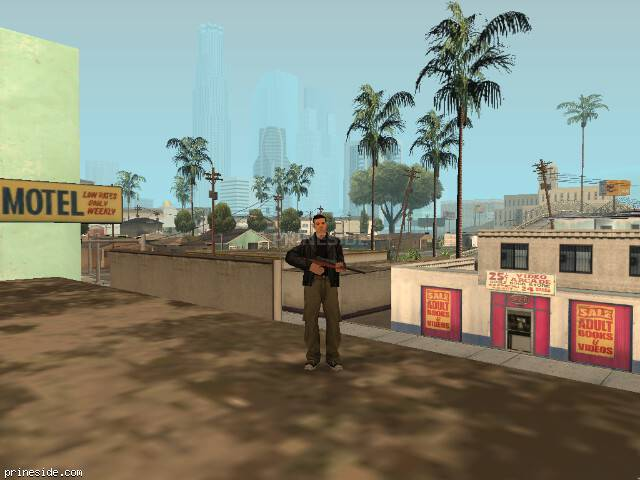 GTA San Andreas weather ID -1022 at 19 hours