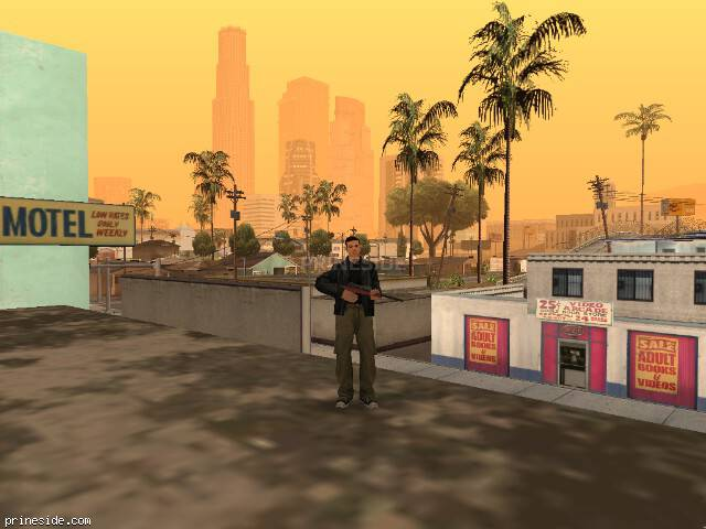 GTA San Andreas weather ID 2 at 20 hours