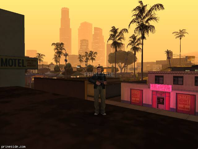 GTA San Andreas weather ID 2 at 22 hours