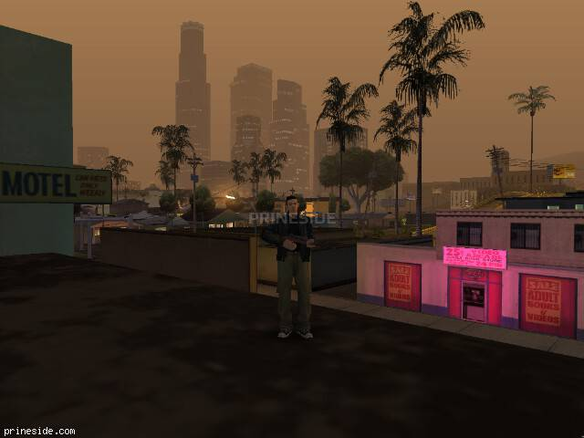 GTA San Andreas weather ID 514 at 23 hours