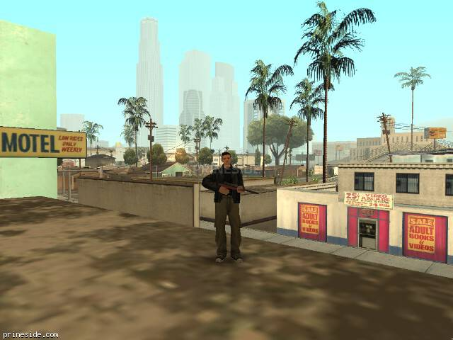 GTA San Andreas weather ID 2 at 9 hours