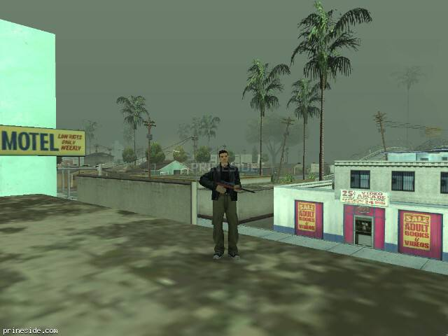 GTA San Andreas weather ID 1044 at 11 hours