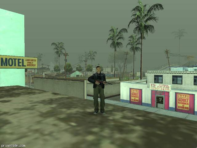 GTA San Andreas weather ID 1300 at 15 hours
