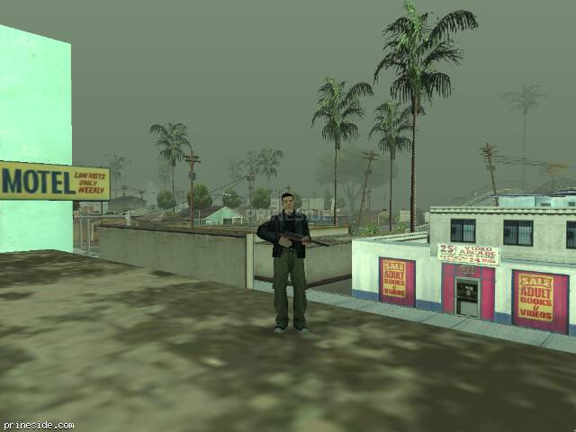 GTA San Andreas weather ID 1300 at 16 hours