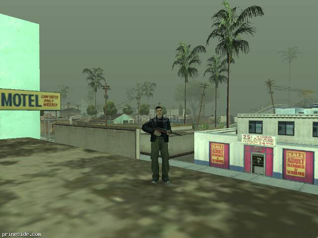 GTA San Andreas weather ID -236 at 17 hours