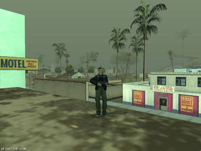 GTA San Andreas weather ID 1300 at 19 hours