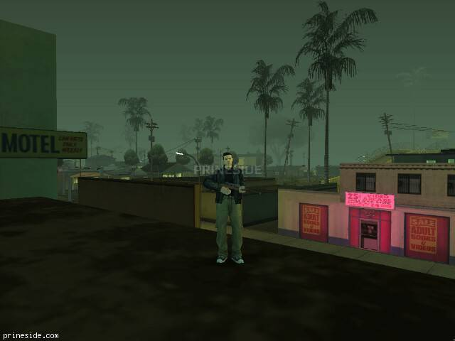 GTA San Andreas weather ID 276 at 21 hours