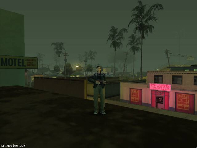GTA San Andreas weather ID 1300 at 22 hours